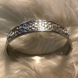 Coach silver bracelet (Authentic)